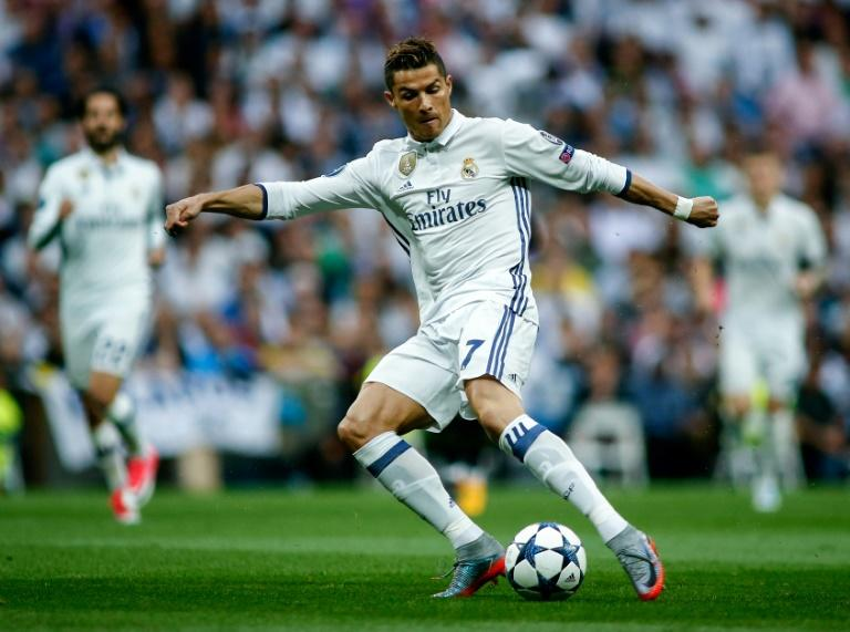 Real Madrid's Cristiano Ronaldo scored a hat-trick in their UEFA Champions League semi-final 1st leg 3-0 win over Atletico Madrid, at the Santiago Bernabeu stadium in Madrid, on May 2, 2017