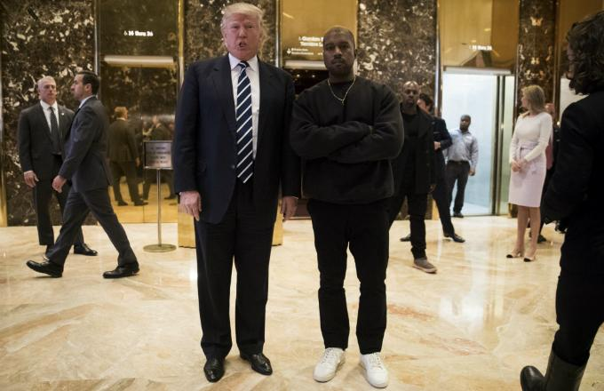Kanye West Loves His 'Brother' Trump Because They're Both 'Dragon Energy'
