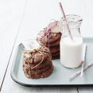 """<p>These dark, gooey cookies just happen to be gluten-free, so no one has to miss out on dessert.</p><p><em><a href=""""https://www.goodhousekeeping.com/food-recipes/a15372/chocolate-volcano-cookies-gluten-free-recipe-ghk0514/"""" rel=""""nofollow noopener"""" target=""""_blank"""" data-ylk=""""slk:Get the recipe for Chocolate Volcano Cookies »"""" class=""""link rapid-noclick-resp"""">Get the recipe for Chocolate Volcano Cookies »</a></em></p><p><strong>RELATED: </strong><a href=""""https://www.goodhousekeeping.com/food-recipes/dessert/g376/gluten-free-dessert-recipes/"""" rel=""""nofollow noopener"""" target=""""_blank"""" data-ylk=""""slk:25 Gluten-Free Desserts That Will Be the Hit of Any Party"""" class=""""link rapid-noclick-resp"""">25 Gluten-Free Desserts That Will Be the Hit of Any Party</a><br></p>"""