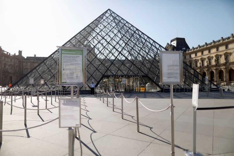 Louvre Museum prepares to reopen, minus the Mona Lisa melee