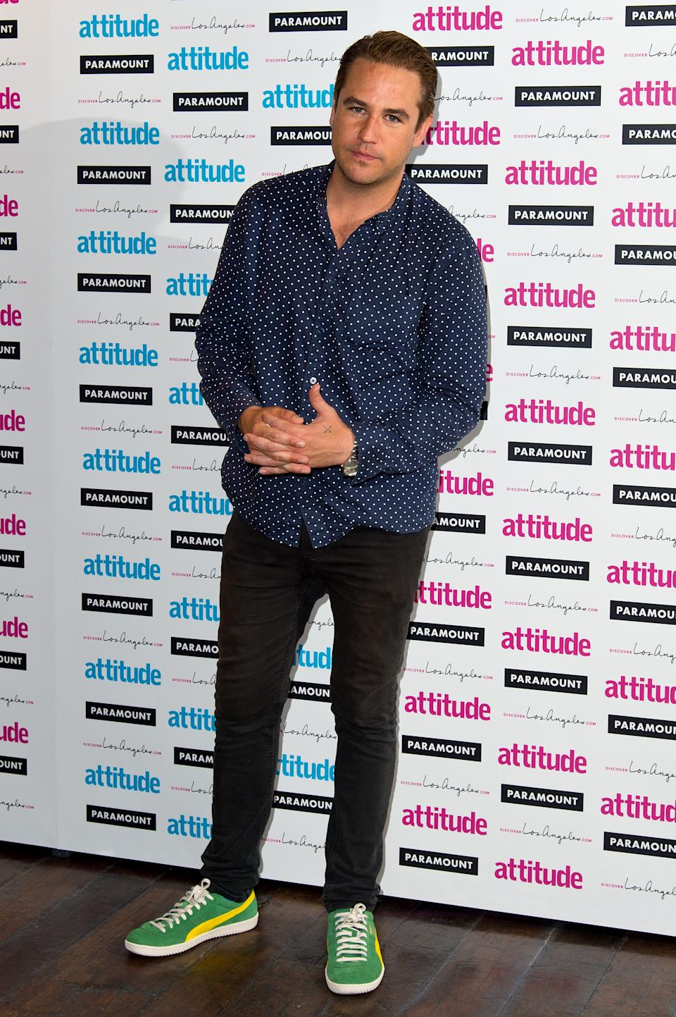 LONDON, ENGLAND - JULY 16:  Kavana attends the Attitude Magazine Hot 100 party at Paramount Club on July 16, 2014 in London, England.  (Photo by Ben A. Pruchnie/Getty Images)