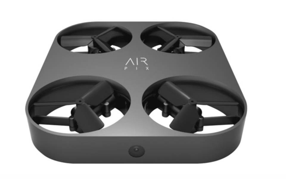 Airselfie AirPix Quadcopter Drone with Camera - Black - Only at Best Buy