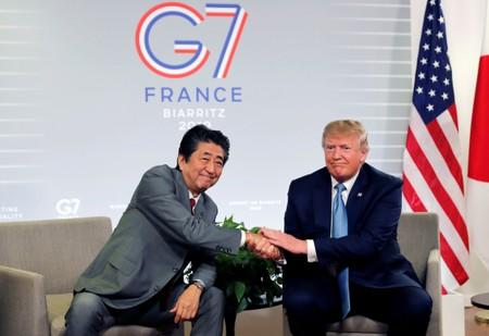 Trump, Abe say U.S. and Japan have agreed in principle on trade deal