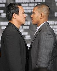 The Juan Manuel Marquez-Juan Diaz match in July should be entertaining for as long as it lasts