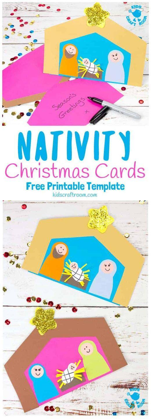 """<p>If you're teaching kids about the """"reason for the season,"""" this is a fun and easy DIY project—especially if you cut out all of the shapes ahead of time. </p><p><em>Get the tutorial at <a href=""""https://kidscraftroom.com/christmas-card-nativity-craft/"""" rel=""""nofollow noopener"""" target=""""_blank"""" data-ylk=""""slk:Kids Craft Room"""" class=""""link rapid-noclick-resp"""">Kids Craft Room</a>.</em></p><p><a class=""""link rapid-noclick-resp"""" href=""""https://www.amazon.com/Crayola-Construction-Colors-Stocking-Stuffer/dp/B00MJ8JSFE?tag=syn-yahoo-20&ascsubtag=%5Bartid%7C10072.g.34351112%5Bsrc%7Cyahoo-us"""" rel=""""nofollow noopener"""" target=""""_blank"""" data-ylk=""""slk:SHOP CONSTRUCTION PAPER"""">SHOP CONSTRUCTION PAPER</a></p>"""