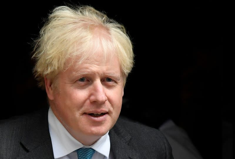 Johnson says UK record on testing compares well with European peers