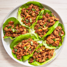 "<p>Inspired by everyone's favorite app at P.F. Chang's, this version uses ground chicken flavored with hoisin sauce, soy sauce, rice wine vinegar, Sriracha and sesame oil.</p><p><em><a href=""https://www.delish.com/cooking/recipe-ideas/recipes/a49533/asian-lettuce-wraps-recipe/"" rel=""nofollow noopener"" target=""_blank"" data-ylk=""slk:Get the recipe from Delish »"" class=""link rapid-noclick-resp"">Get the recipe from Delish »</a></em></p>"