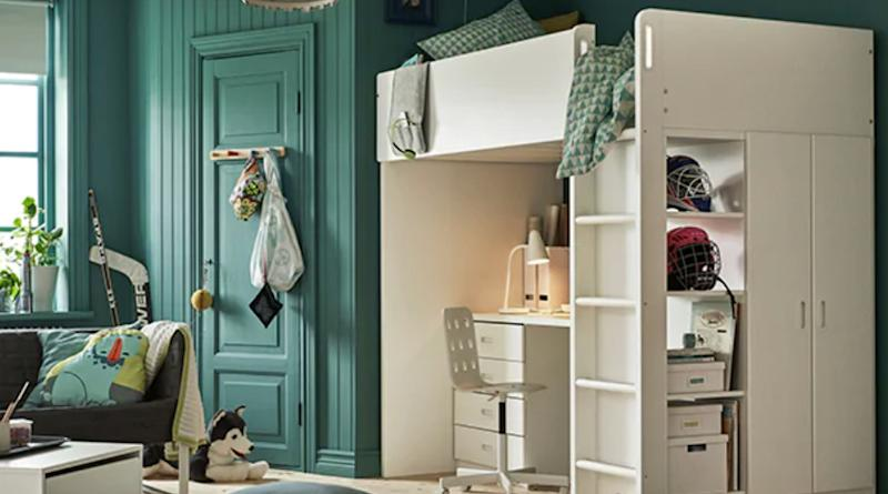 ko test ikea kinderzimmer in der pr fkammer. Black Bedroom Furniture Sets. Home Design Ideas