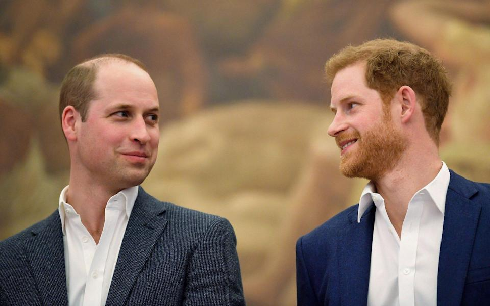 Prince William and Prince Harry hope to repair rift - TOBY MELVILLE/POOL/AFP