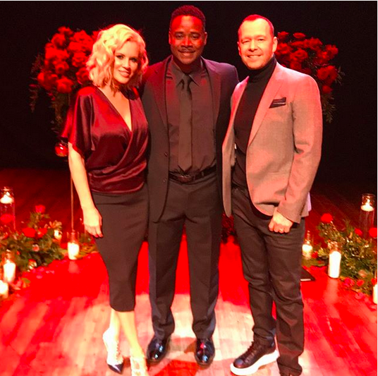 "<p>They did, again! ""Thank you to Rev Ray McElroy @bellboy47 of A Ray of Hope on Earth Ministry — for helping me and Mrs Wahlberg, aka @jennymccarthy, celebrate our third anniversary by renewing our vows,"" the <em>Blue Bloods</em> star wrote. ""At the historic @arcadatheatre in St Charles, IL, your words of love and support inspire us to reach even higher! Thank you. Happy Anniversary, Jenny.Same time next year! I love you!"" he added. (Photo: <a href=""https://www.instagram.com/p/BYe43zPHIqv/?taken-by=donniewahlberg"" rel=""nofollow noopener"" target=""_blank"" data-ylk=""slk:Donnie Wahlberg via Instagram"" class=""link rapid-noclick-resp"">Donnie Wahlberg via Instagram</a>) </p>"