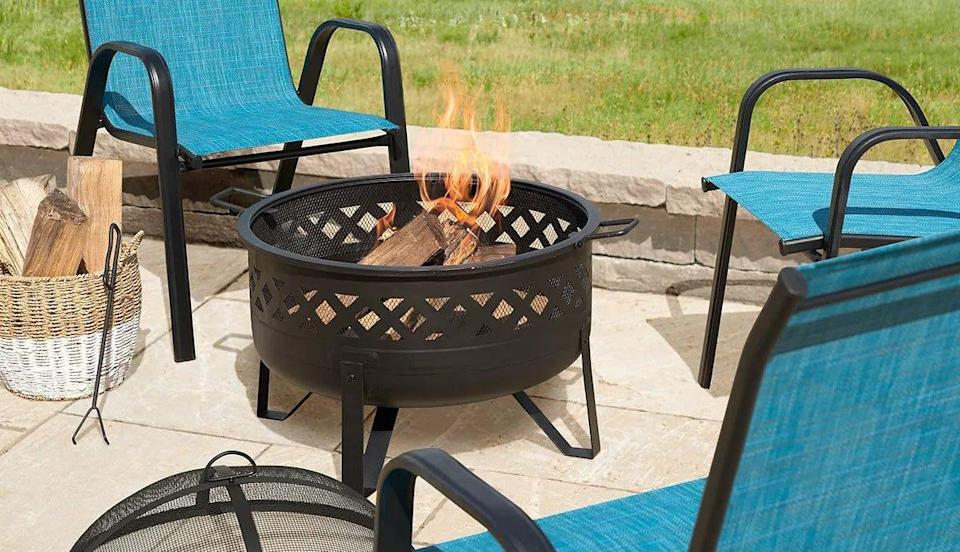Class up your patio for the summer with a firepit from Kohl's this Prime Day.