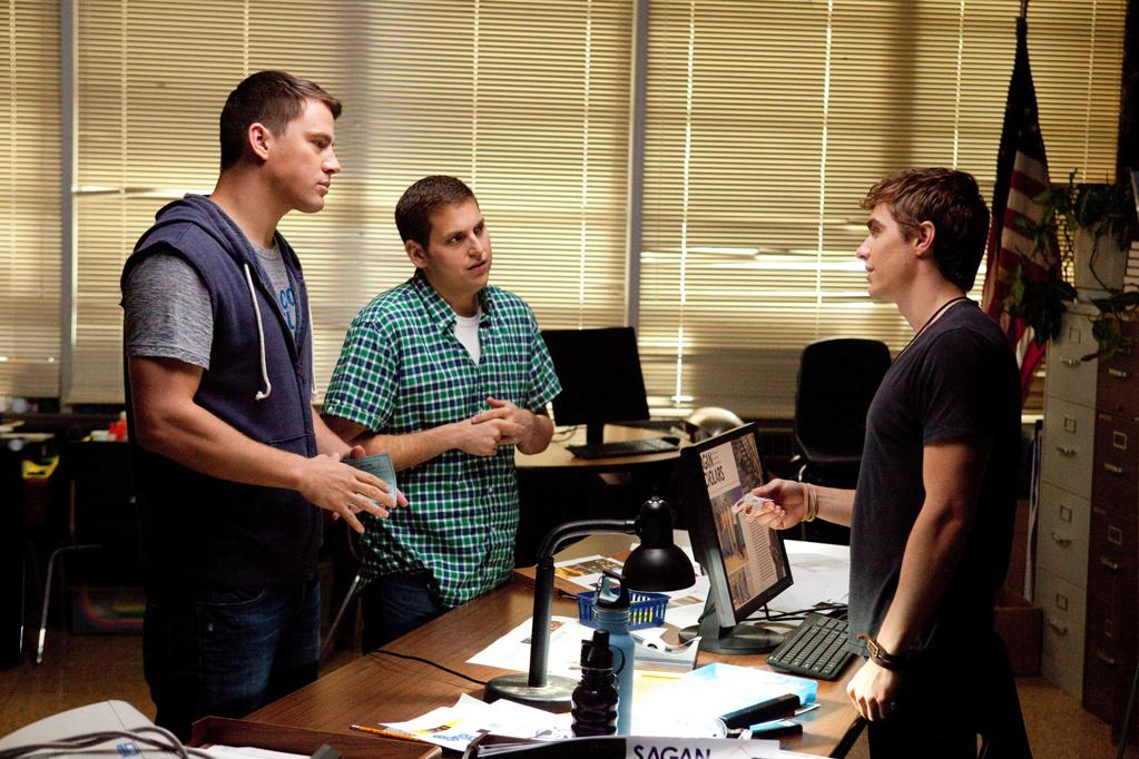 """Channing Tatum and Jonah Hill in Columbia Pictures' """"<a href=""""http://movies.yahoo.com/movie/21-jump-street/"""">21 Jump Street</a>""""- 2012"""