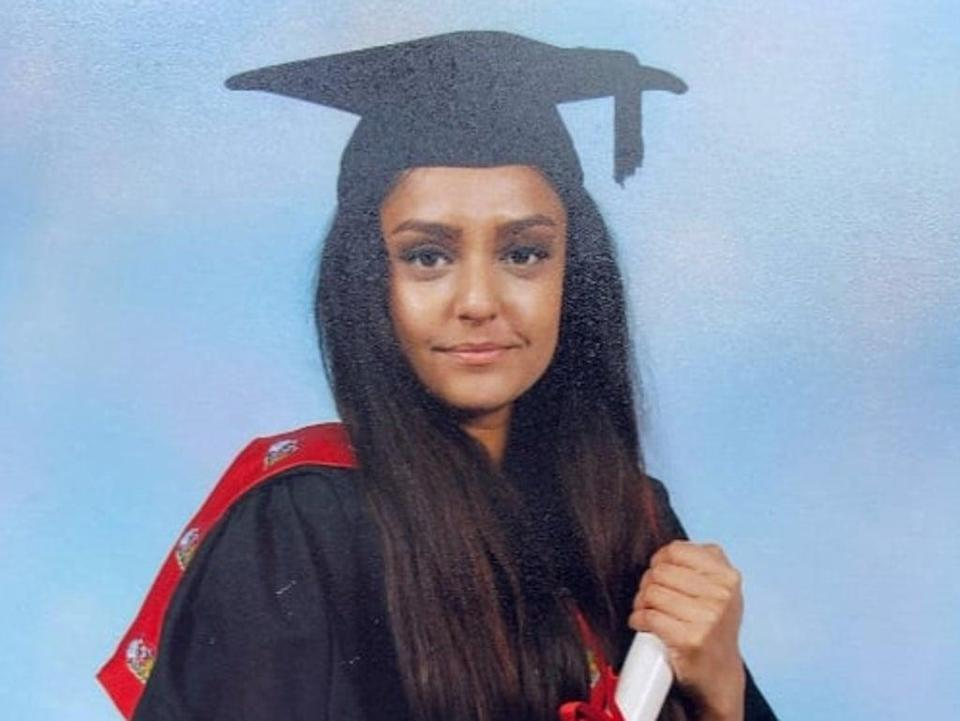 A man has been arrested in connection with Sabina Nessa's death (Metropolitan Police)