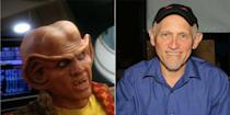 <p>A member of the extraterrestrial race Ferengi, Quark, was one of <em>Star Trek: Deep Space Nine</em>'s funniest characters. Off-screen, you would never even realize actor Armin Shimerman as the man who played him.</p>