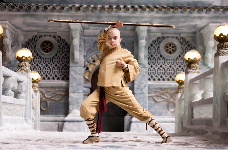 'The Last Airbender' - £220 million: Parp! M Night Shyamalan's lacklustre anime adap was roundly trounced, mostly because of its constant and hilarious use of the word 'bender' (fnar fnar), but it KILLED at the box office, making more than Martin Scorsese's 'Shutter Island' and Ridley Scott's 'Robin Hood'.