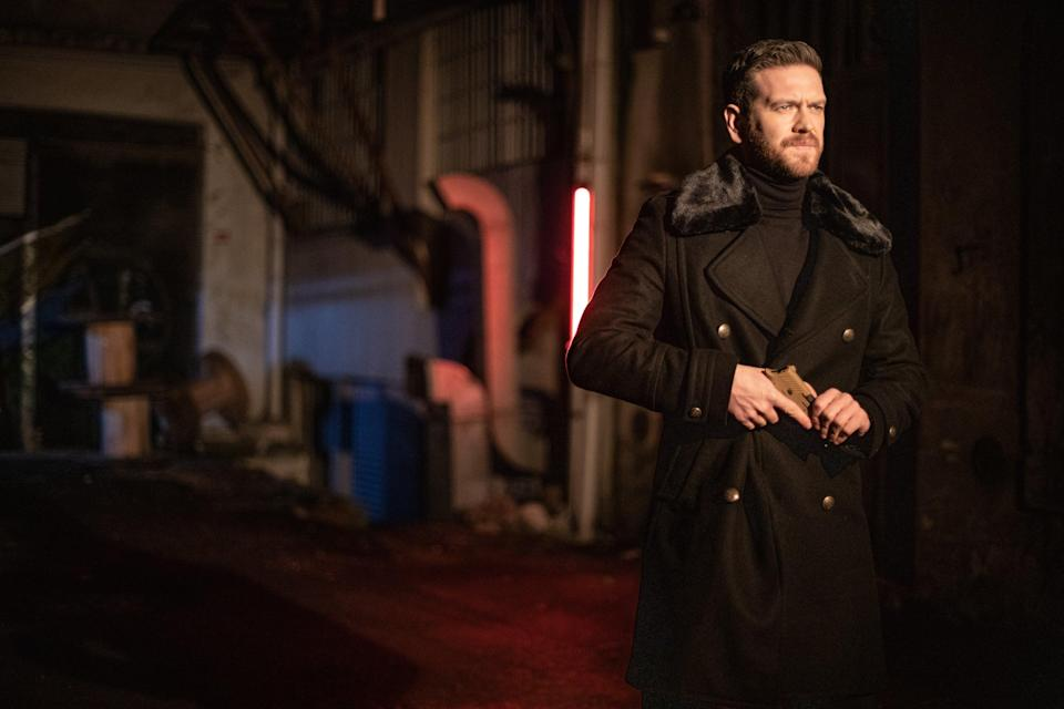 """<em><strong>50M2</strong></em> <strong><em>(2021)</em></strong><br><br>When a hitman decides he wants a second chance at life, he looks to the only photograph he owns from his childhood. Escaping from his boss' tight grasp, he heads for Güzelce, Istanbul and ends up hiding out in a small, 50-square-metre tailor shop. When the locals assume that he is the son of the recently deceased tailor, he decides to try his luck at a new life. <br><br>Available 27th January<span class=""""copyright"""">Photo Courtesy of Netflix.</span>"""