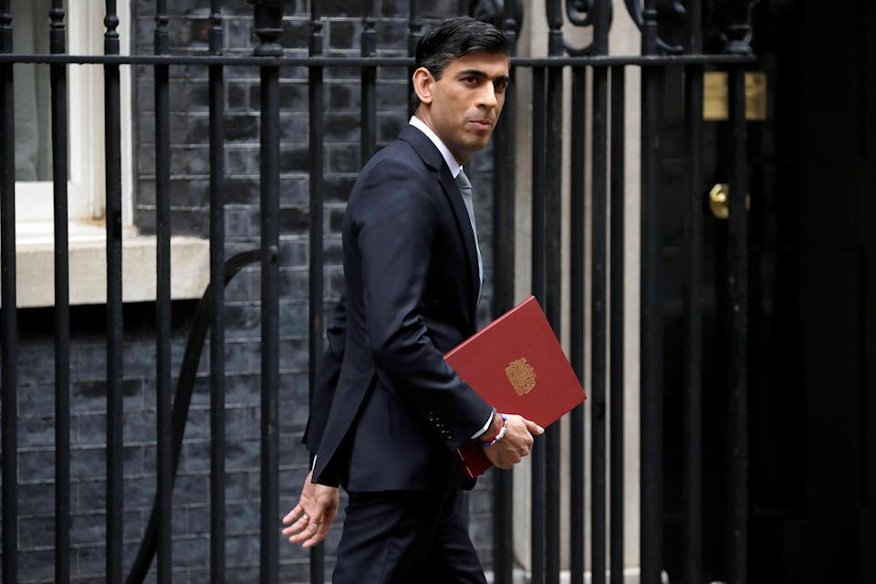 Rishi Sunak is said to be comfortable with a delay to re-opening (AP)