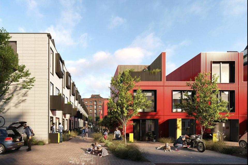 The Row House by Urban Splash can adapt to changing needs (Handout)