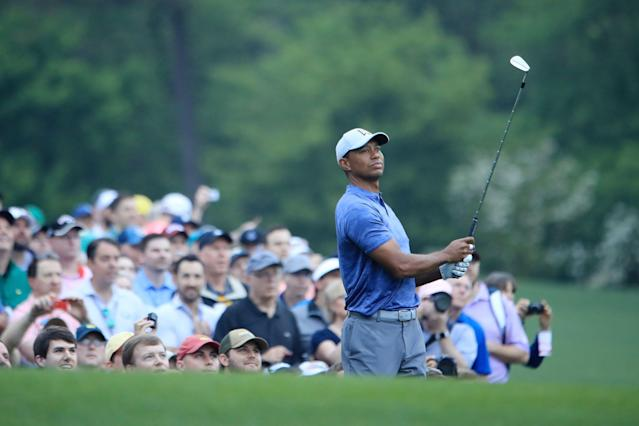 An unidentified Nevada individual placed an $85,000 bet on Tiger Woods winning the Masters. (Getty Images)