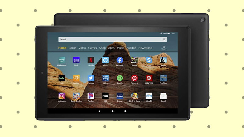 Save 26 percent on the Fire HD 10! (Photo: Amazon)