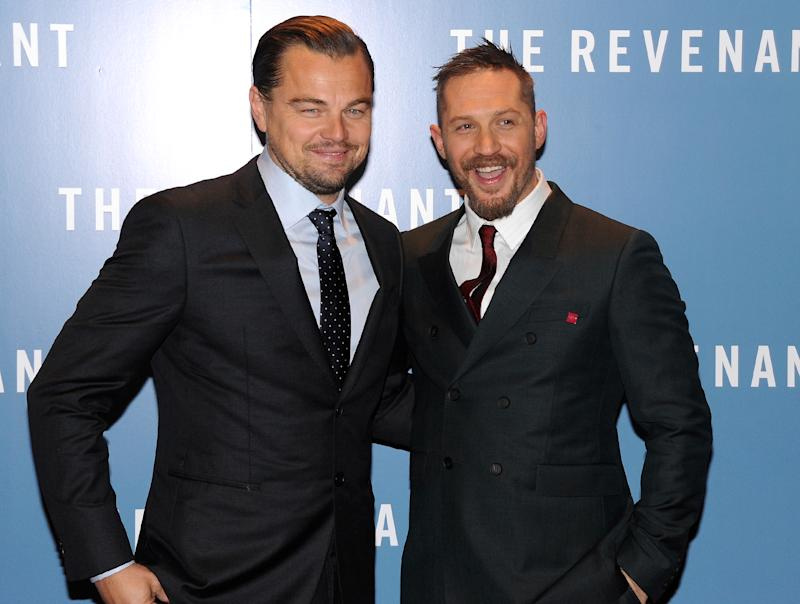 Tom Hardy Shows Off Hilarious Leonardo DiCaprio Tattoo
