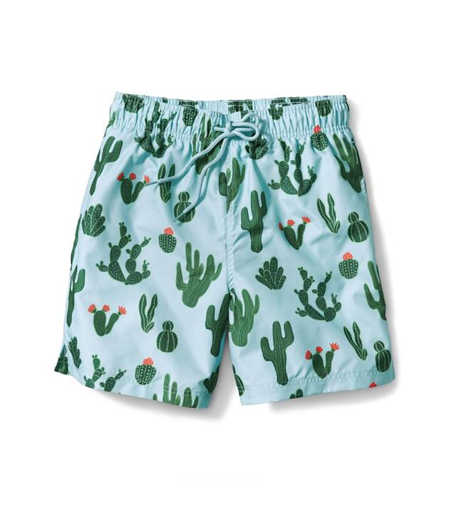 "<p>Men's Print Swim Short, $10, <a href=""https://www.walmart.com/ip/George-Men-s-Print-Swim-Short/844816765"" rel=""nofollow noopener"" target=""_blank"" data-ylk=""slk:walmart.com"" class=""link rapid-noclick-resp"">walmart.com</a>. (Photo: Courtesy of Walmart) </p>"
