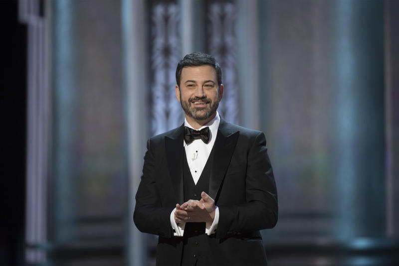 Donald Trump's Oscars Tweet Rattles Jimmy Kimmel class=