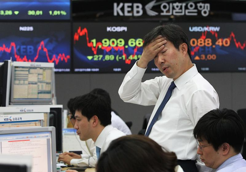 Asia stocks fall as talks on US budget deal stall