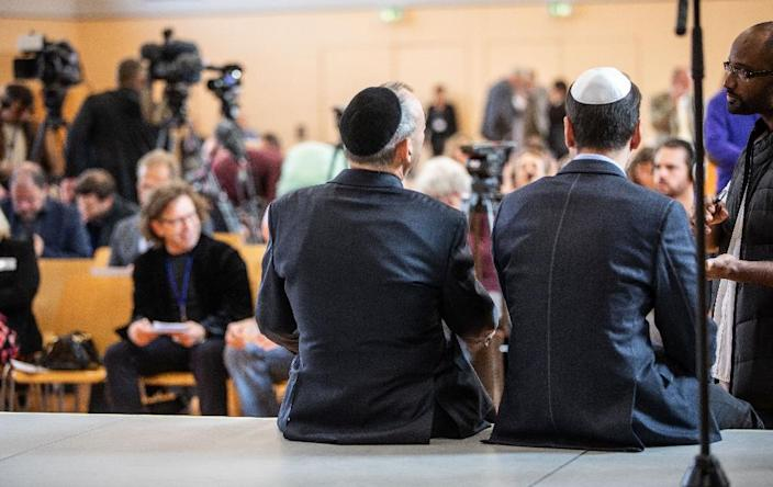 "Anyone wanting to join the newly formed ""Jews in the AfD"" must be a card-carrying member of the far-right party who is either ethnically or religiously Jewish (AFP Photo/Frank Rumpenhorst)"