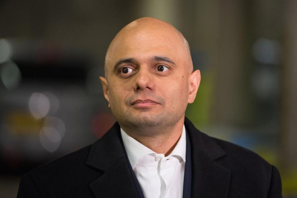 Home secretary Sajid Javid says British troops will not be used to rescue those who went to Syria to join IS (Picture: PA)