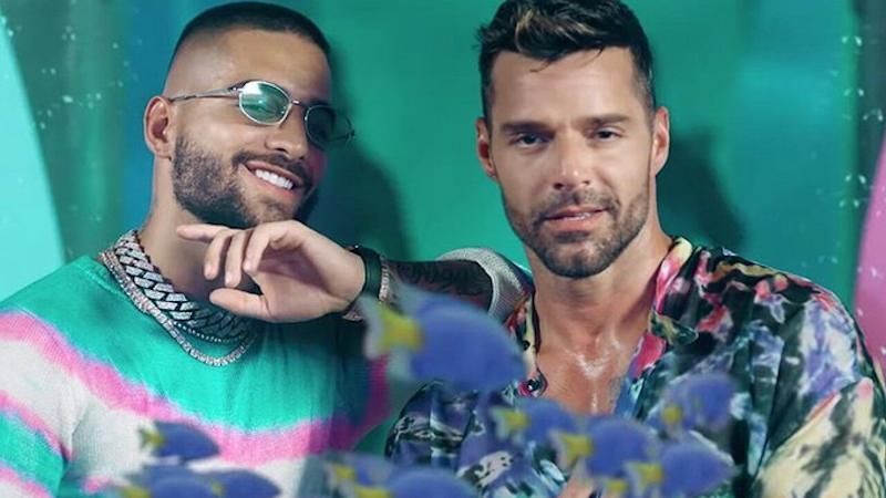 Maluma and Ricky Martin Get Our Hearts Racing in Beachside 'No Se Me Quita' Music Video
