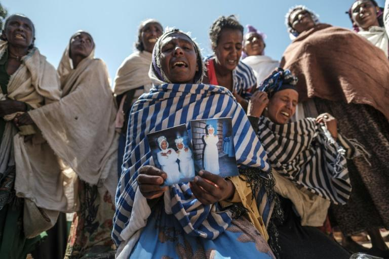 The people of Tigray blame massacres in towns like Dengolat on Ethiopian and Eritrean troops