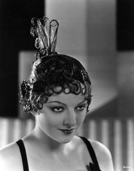 "<p>Myrna Loy was one of America's leading ladies in the 1920s. Here she is wearing an impressive <a href=""https://www.pinterest.es/pin/367254544586523170/"" rel=""nofollow noopener"" target=""_blank"" data-ylk=""slk:lacquer wig"" class=""link rapid-noclick-resp"">lacquer wig</a>, named The Speakeasy, which was designed by Dermot of London. </p>"