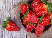 """Huelva, Spain''s leading agricultural region produces 312,065 tons of strawberries per year of which 80 percent are exported, the International Society for Horticultural Science <a rel=""""nofollow noopener"""" href=""""https://www.ishs.org/ishs-article/838_6"""" target=""""_blank"""" data-ylk=""""slk:reports"""" class=""""link rapid-noclick-resp"""">reports</a>. Unfortunately enough, the study found that climate change—specifically, the relationship between the rate of production and temperature—resulted in reductions in strawberry crop reductions in recent decades."""