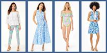 """<p>There are some brands that hardly ever go on sale, and as preppy fans can attest, <a href=""""https://www.lillypulitzer.com/"""" rel=""""nofollow noopener"""" target=""""_blank"""" data-ylk=""""slk:Lilly Pulitzer"""" class=""""link rapid-noclick-resp"""">Lilly Pulitzer</a>—known for their dynamic, beachy prints, bold, citrusy colors, and easy-breezy silhouettes—is right at the top of the list. So when this shoreside staple decides to break from the norm and hold one of their once-in-a-blue-moon sales, it's big news. Well, get your shopping carts ready, fashion lovers, because the moment has arrived.</p><p>Right now, prepster essential brand Lilly Pulitzer is holding one of their all too rare sales online, making this a perfect time to add some much-needed color to your fall wardrobe overhaul. Packed with fan favorites like effortlessly chic A-line and maxi dresses plus fresh finds like cozy athleisure leggings, shorts, and even swimwear and accessories, the sale is bringing big discounts (think: more than 60% off on select items) on the looks you've been coveting all season. All you need to do to snag these markdowns is to head over to <a href=""""https://www.lillypulitzer.com/"""" rel=""""nofollow noopener"""" target=""""_blank"""" data-ylk=""""slk:lillypulitzer.com"""" class=""""link rapid-noclick-resp"""">lillypulitzer.com</a> and enter your email address to get access—but remember, like all good things, the Lilly Pulitzer sale (and options ins your perfect size) won't last, so seize the opportunity while you can.</p><p>Below, we've rounded up some of the looks we'll be adding to our own carts ASAP to inspire your shopping. Take a look at our favorites to get started, then<a href=""""https://www.lillypulitzer.com/"""" rel=""""nofollow noopener"""" target=""""_blank"""" data-ylk=""""slk:head to Lilly Pulitzer"""" class=""""link rapid-noclick-resp""""> head to Lilly Pulitzer</a> to shop the full sale. </p>"""