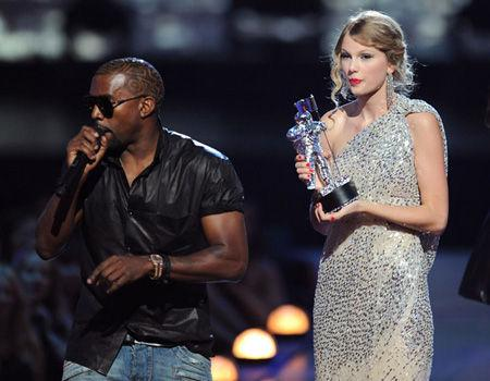 "<p>Kanye West apologized to Taylor Swift for ruining her award at the 2009 VMAs by writing her a song. He tweeted  ""I wrote a song for Taylor Swift that's so beautiful and I want her to have it.""</p>"