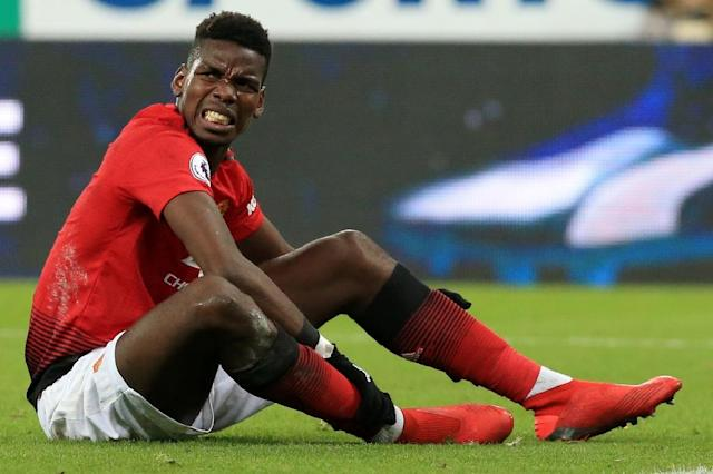 Paul Pogba has scored four goals in as many games since Ole Gunnar Solskjaer was named Manchester United coach (AFP Photo/Lindsey PARNABY)