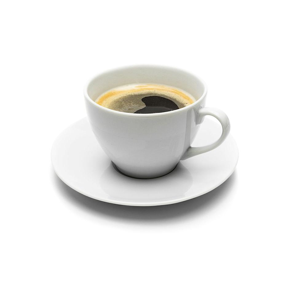 <p>A shot of espresso before an important meeting could help you absorb key facts. It's a stimulant, which can improve certain types of memory.</p>