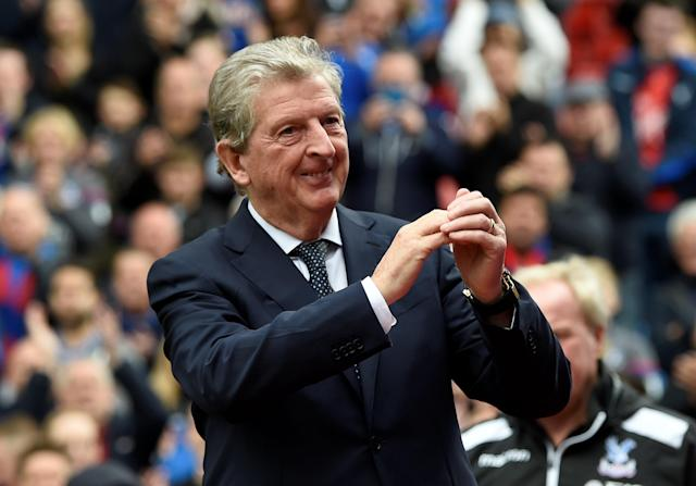 <p>Crystal Palace manager Roy Hodgson before the match Action Images via Reuters/Tony O'Brien </p>