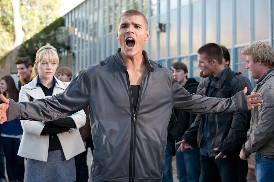"""Chris Zylka in Columbia Pictures' """"The Amazing Spider-Man"""" - 2012"""