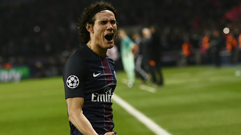 Edinson Cavani PSG Champions League