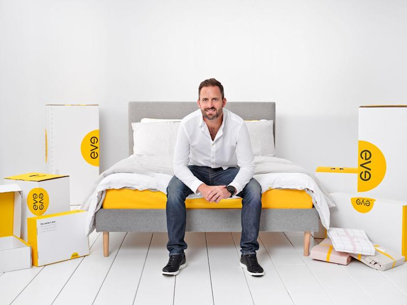 Eve Sleep CEO James Sturrock. Photo: Eve Sleep
