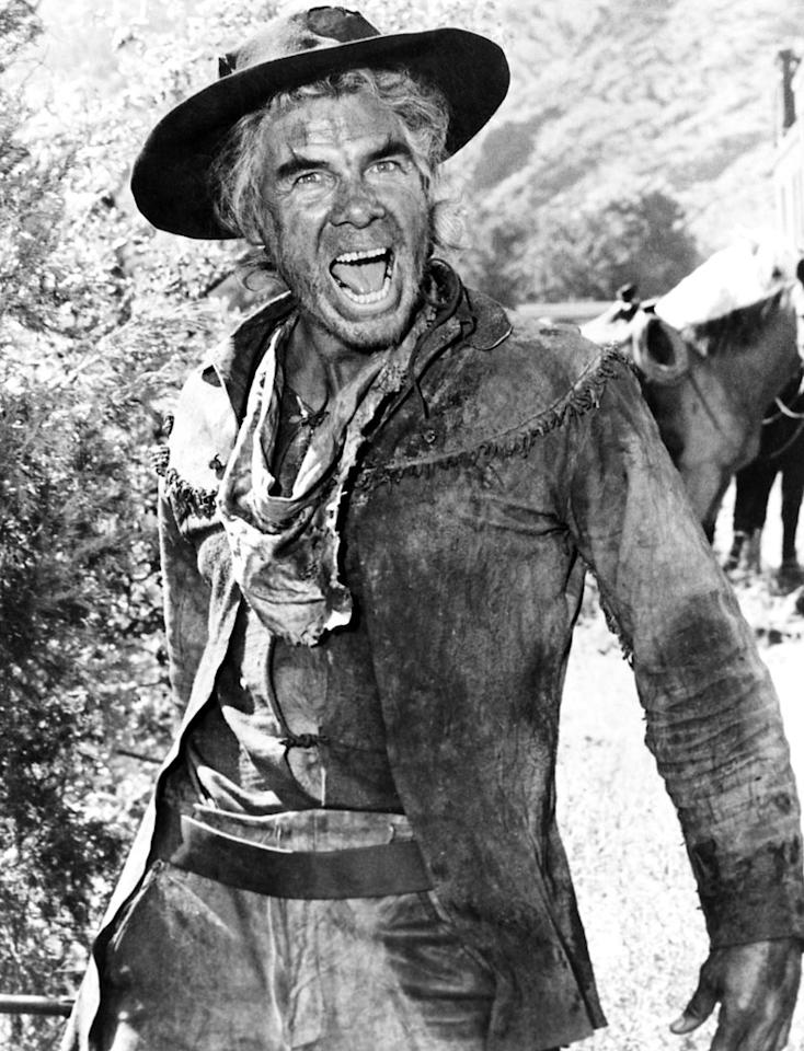 "Lee Marvin, Best Actor, 'Cat Ballou' (1965)  ""I smell a water hole,"" proclaims Lee Marvin when he sniffs the faint smell of liquor in ""Cat Ballou,"" one of the few comedic roles to win Best Actor. In a surprise victory, Marvin beat out heavyweight dramatic contenders Rod Steiger (""The Pawnbroker""), Richard Burton (""The Spy Who Came in From the Cold""), Laurence Olivier, (""Othello"") and Oskar Werner (""Ship of Fools"")."