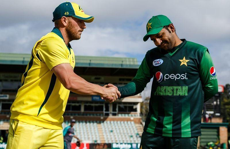 Aaron Finch and Sarfaraz Ahmed