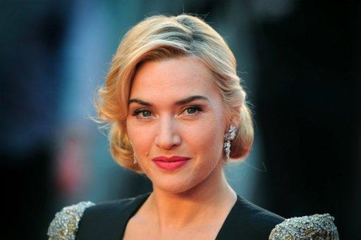 British actress Kate Winslet, pictured in March 2012, was made a Commander of the Most Excellent Order of the British Empire (CBE) in recognition for her services to drama