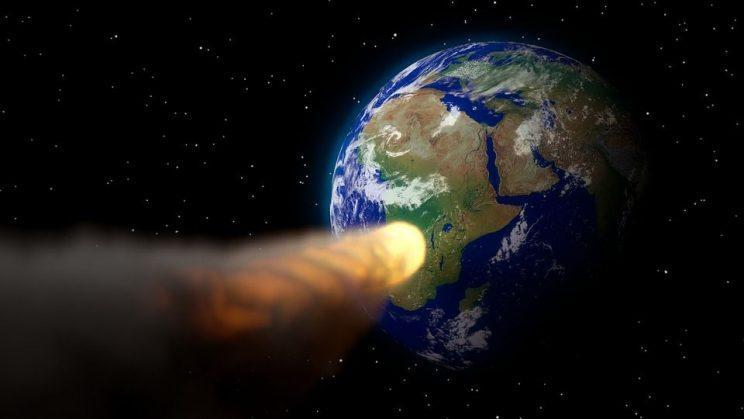 The asteroid will fly past on October 12 (Rex)