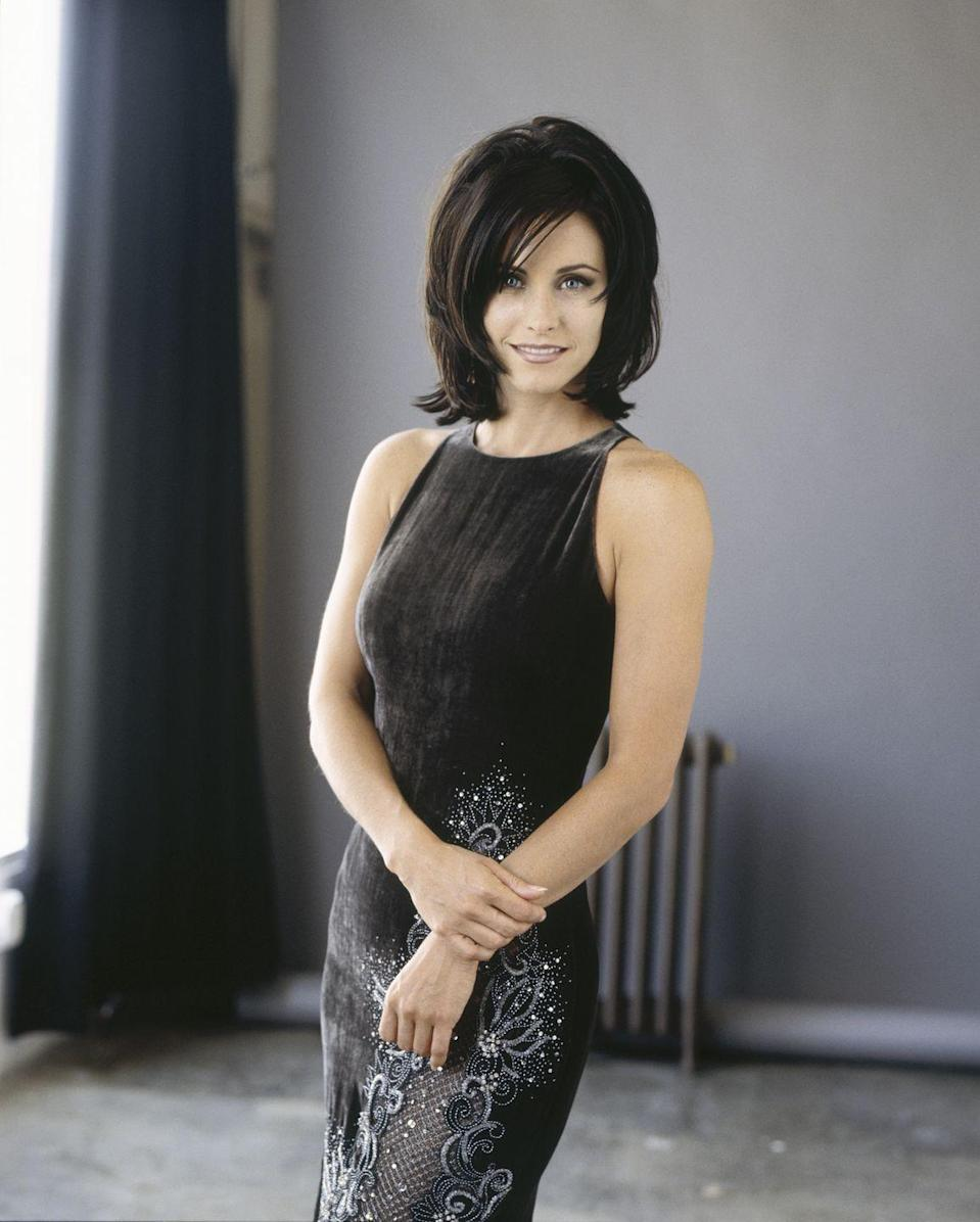 <p>Arguably the most recognizable amongst the group when she was cast as Monica Gellar, Courteney had been a working actress for nearly a decade and had already starred in two TV shows. She was also dating actor Michael Keaton at the time, who had recently starred in <em>Batman </em>and <em>Batman Returns</em>.</p>