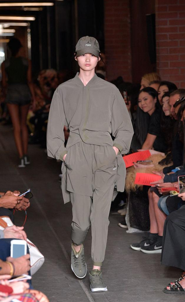 <p>New York Fashion Week just brought a whole new meaning to the term 'fast fashion'. Public School sent models down the runway in sports caps and Lara Croft inspired combat gear. <em>[Photo: Getty]</em> </p>