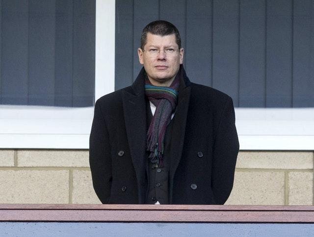 Neil Doncaster made a pitch for public money