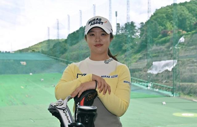 Kim said parental support was vital for young golfers in South Korea (AFP Photo/Jung Yeon-je)
